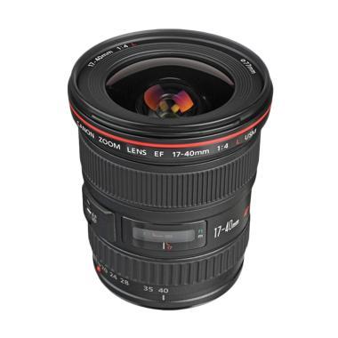 Canon EF 17-40mm f/4L USM Lensa Kamera