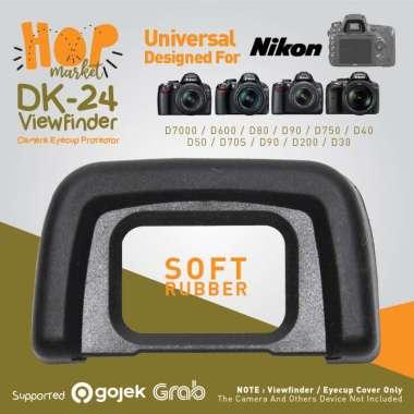Viewfinder NIKON DK-24 EyeCup Eye Piece Camera Cup for Kamera DSLR D3000 D3100 D5000 D5100 Etc BLACK