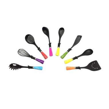 Oxone OX-043 Rainbow Kitchen Tools Set Spatula Sutil.