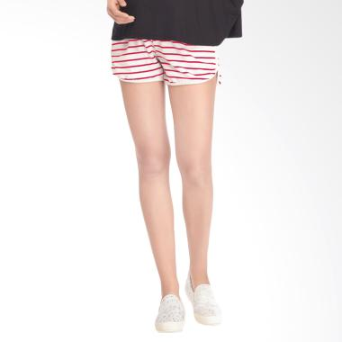 Mooimom Casual Maternity Shorts Celana Pendek Ibu ... 30255dc3c5