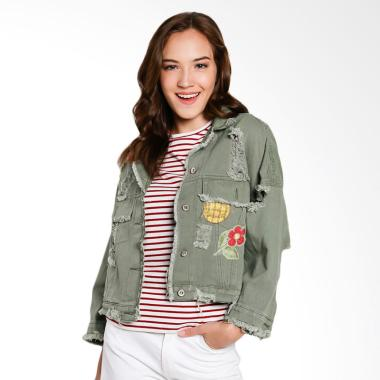 Papercut Fashion GZ 02 Lovely 714 D ... acket Wanita - Green Army