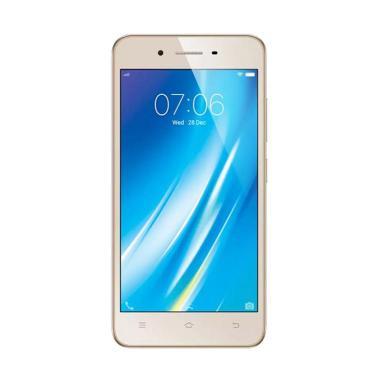 VIVO Y53 Smartphone - Gold [16GB/ 2 GB] + Free Selfie Stick Monopod