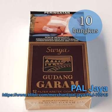 Rokok Gudang Garam Surya 12 batang [1 slop / 10 bungkus]
