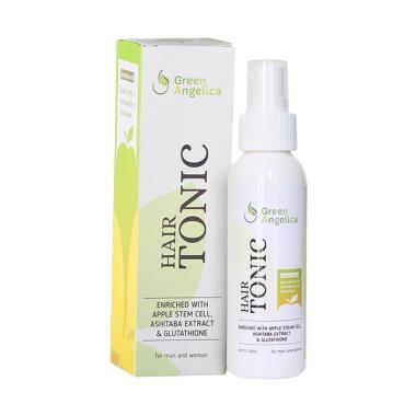 DISKON..!!! Penumbuh rambut botak dan mencegah kerontokan rambut tercepat dan sangat ampuh alami Green Angelica Hair Tonic Terlaris