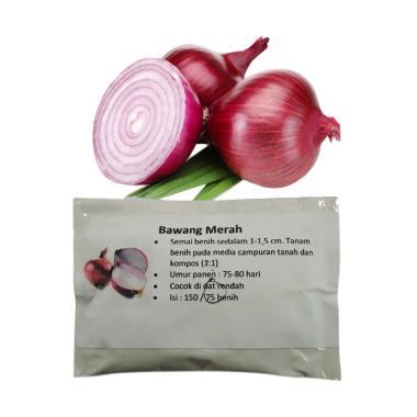 Puriegarden Bawang Merah Benih Tanaman [75 Benih]