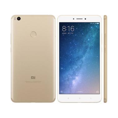Xiaomi Mi Max 2 Smartphone - Gold [64 GB/4GB/Distributor]