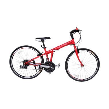 Selis Sepeda Lipat - Merah KHS F26