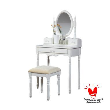 The Olive House Lucia Console Set Dressing Tables dengan Laci