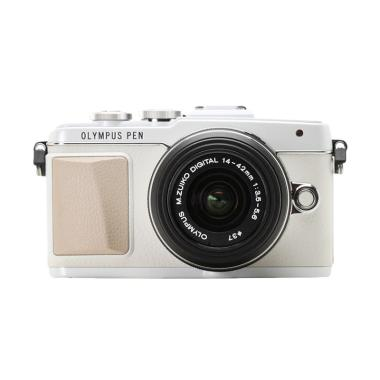 Olympus Pen E-PL7 FL-LM1 Kamera Mirrorless with 14-42mm EZ - Silver