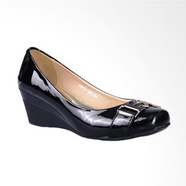 Ghirardelli Wedges Becca Sepatu Wanita - Black