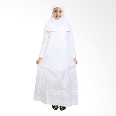 Fayrany FGP-003A Busana Muslim Gamis Anak - Putih