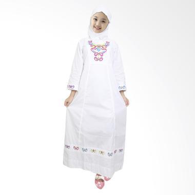 Fayrany FGP-003B Busana Muslim Gamis Anak - Putih