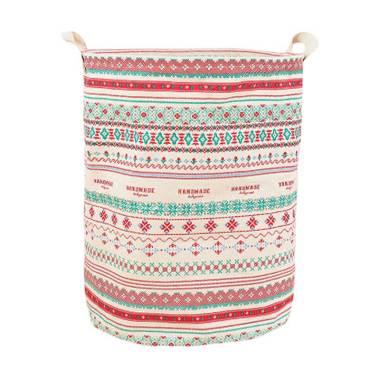 Homestuff Motif Batik Linen Laundry Bag Keranjang