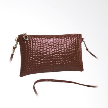 Atdiva Selempang Mini Dompet Import Tas Wanita - Coklat