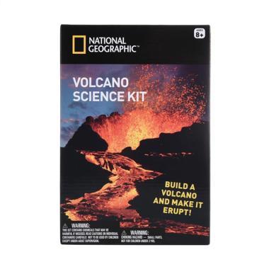 National Geographic Natgeo Volcano Science Kit Mainan Edukasi