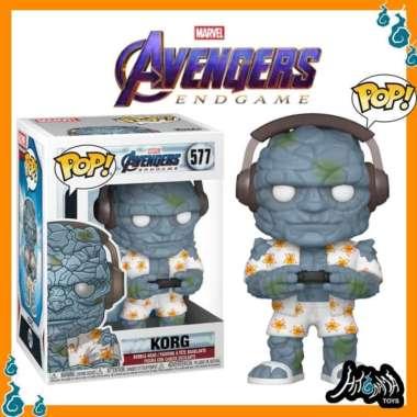 harga Marvel - Avengers 4 Endgame Gamer Korg with Headphone Funko Pop Figure Blibli.com