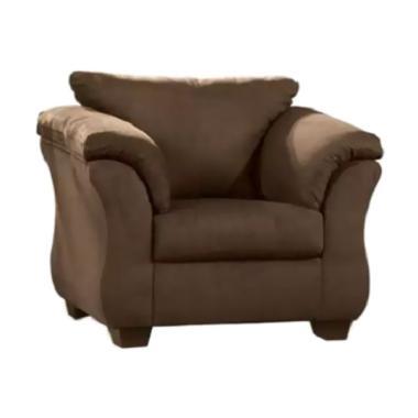 Ivaro Gadang Sofa - Dark Brown [1 Seater]