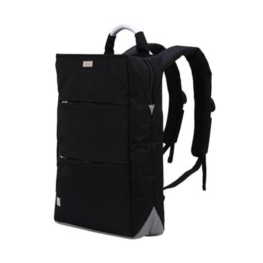 Remax 525 PRO Double Bag Backpack Original Tas Ransel Notebook - Black