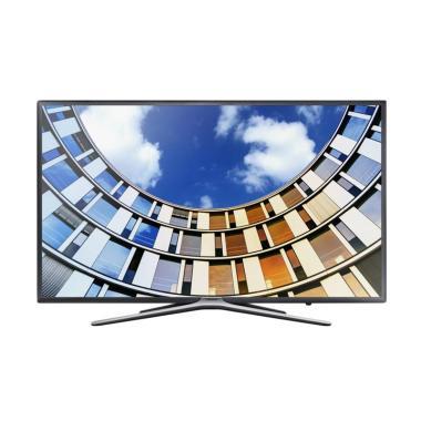 Samsung UA43M5500AKPXD LED TV - Hitam [43 Inch/Khusus Jadetabek]