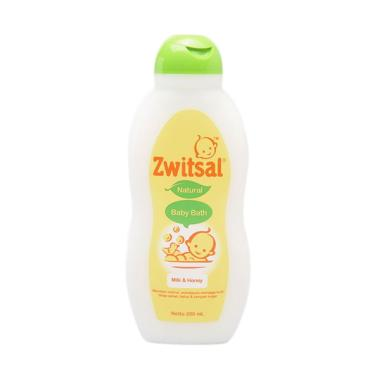 Zwitsal Baby Bath Natural Milk & Honey [200 mL]