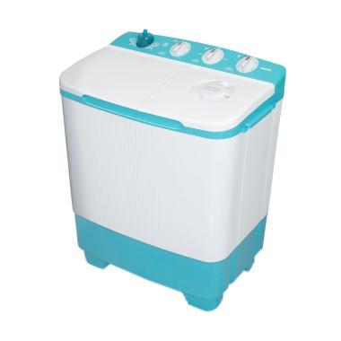 Sanken TW-8650BU Mesin Cuci [2 Tabung/ 7 Kg]