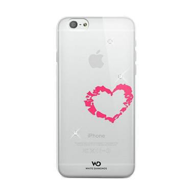 White Diamonds Lipstick Heart Casing for iPhone 6