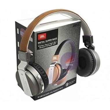 harga New  JB55 SUPER BASS LEATHER  Headphone JBL Bluetooth  Wireless Headset Murah Blibli.com