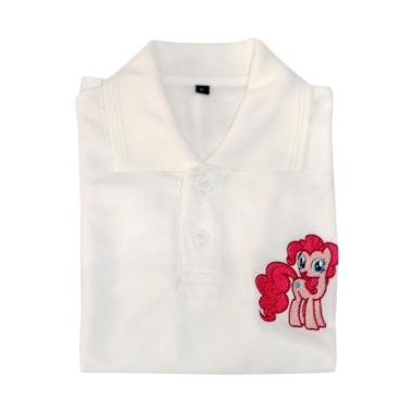 Cotton Kerah Karakter Little Pony  Kaos Polo Anak