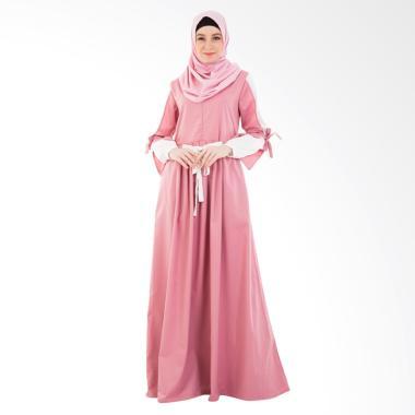 Valisha Gilda Taffy Dress Gamis Wanita - Pink