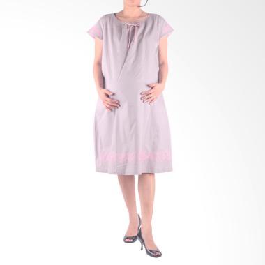 HMILL D1339 Dress Baju Hamil - Abu