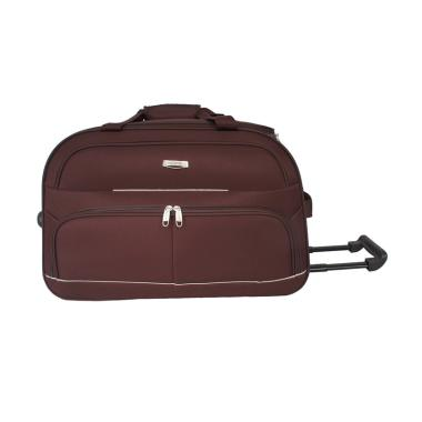 Polo Hunter 593 Kabin Duffle Bag wi ... y - Coffee [Size 23 inch]
