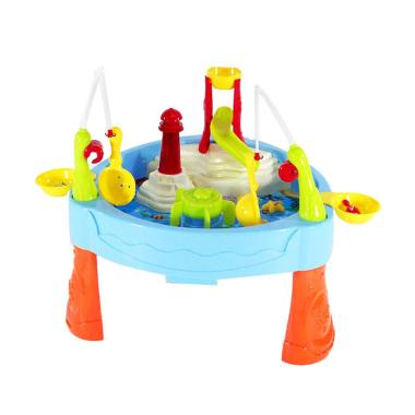 TIMMY Water Paradise Fishing Game Mainan Anak - Multicolor