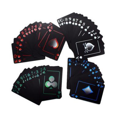 OEM Eksklusif Poker Playing Cards Novelty Board Game Gift Durable Kartu Remi
