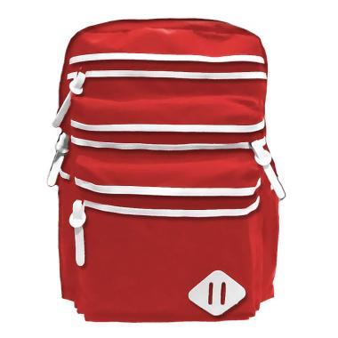Bag & Stuf Oxfordia Casual Backpack Wanita - Merah