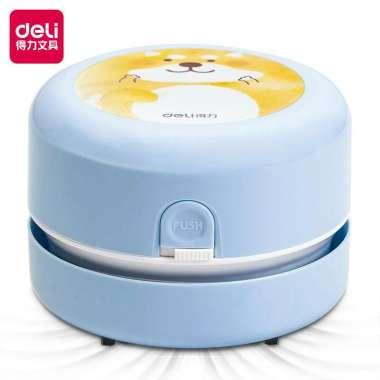 harga Deli Desktop Vacuum / Pembersih Debu Daya Serap Tinggi Dengan Sikat Nylon 18883 Light blue Blibli.com