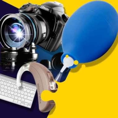 harga Premium Blower Pembersih Debu Kamera Lensa Laptop Rubber Dust Air Blower Pump - RANDOM Murah Blibli.com