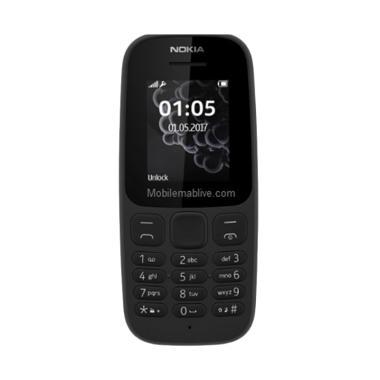 Nokia 105 2017 Handphone [Dual SIM] Hitam
