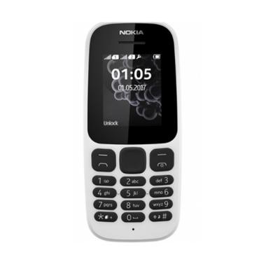 Nokia 105 2017 Hanphone - White
