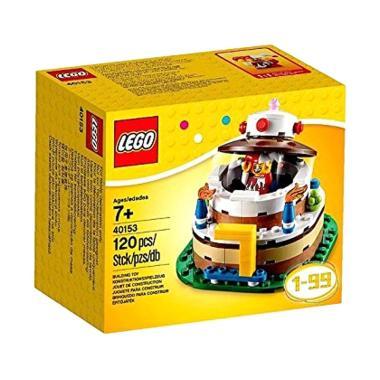 LEGO 40153 Birthday Cake Table Decoration Set Mainan Anak