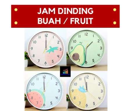 harga Jam Dinding BUAH FRUIT Blibli.com