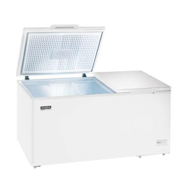 Modena MD-62-WH Conserva Chest Freezer - Putih [2 Pintu/600 L]