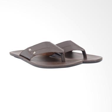 Dr.Kevin PU Leather Sandals Men - Brown 97186