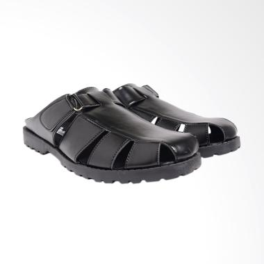 Dr.Kevin Leather Sandals Men - Black 1647