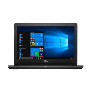 Dell Inspiron 3467 Laptop - Hitam [Ci5-7200U/4GB/500GB/AMD 2GB/Ubuntu]