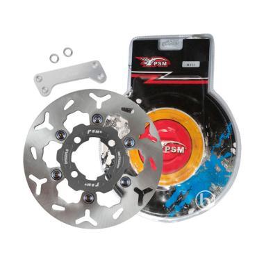 PSM Floating Titanium Piringan Rem Cakram Disc Brake for Xeon Rc - Grey [22 cm