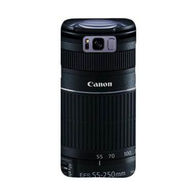 Indocustomcase Canon DSLR Lens Came ... ing for Samsung Galaxy S8