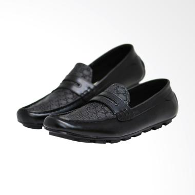 Frandeli Original Cocoes Diamond Sepatu Pria - Black