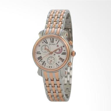 Bonia B10122-2611 Jam Tangan Wanita - Silver Gold