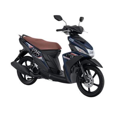 Yamaha New Mio M3 125 CW Sepeda Motor - Aggresive Matt Blue