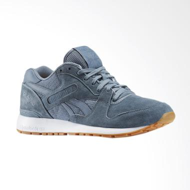 Reebok Men's Sneakers Sepatu Pria - Grey White [GL 6000 PT]